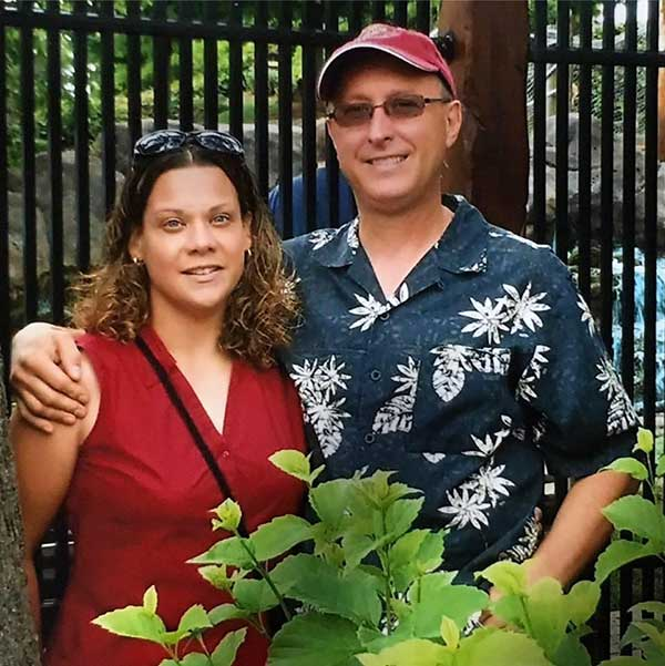 Image of Kathleen Pol Butch with her late husband, Adam Butch